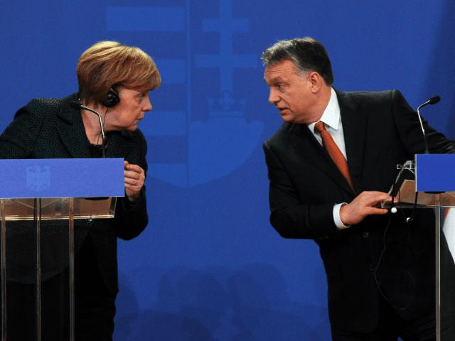 Viktor Orban Angela Merkel