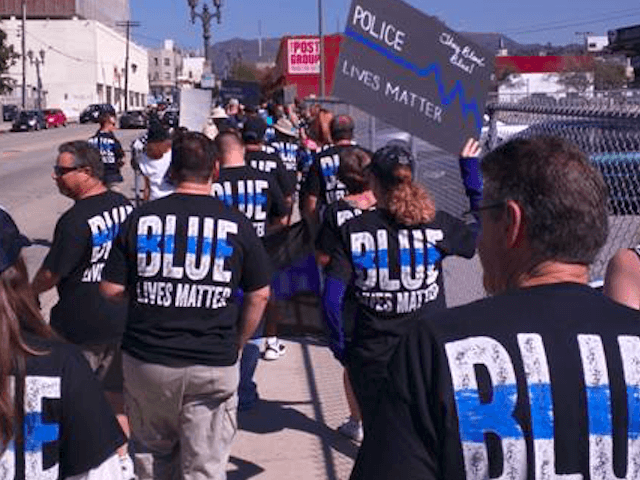 LAPD Blue Lives Matter (Jon Van Winkle / Facebook)