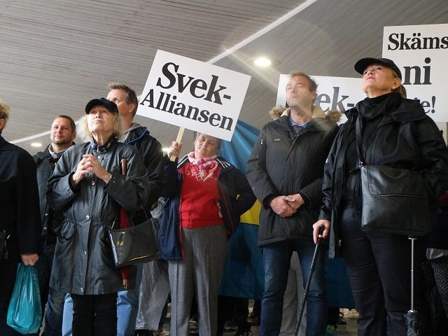 Sotckholm AVGA Protest