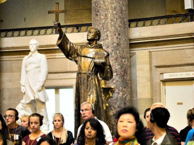 Statue of Father Serra in DC