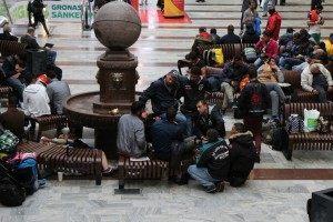 Stockholm Station Migrants