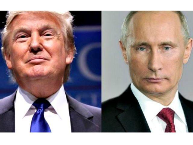 Trump and Putin AP
