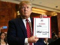 Donald Trump Signs RNC Pledge, Won't Run as Third Party Candidate