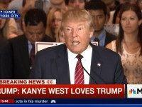 Trump: Kanye West Loves Trump