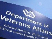 A sign marks the entrance to the Edward Hines Jr. VA Hospital on May 30, 2014 in Hines, Illinois. Hines, which is located in suburban Chicago, has been linked to allegations that administrators kept secret waiting lists at Veterans Administration hospitals so hospital executives could collect bonuses linked to meeting …