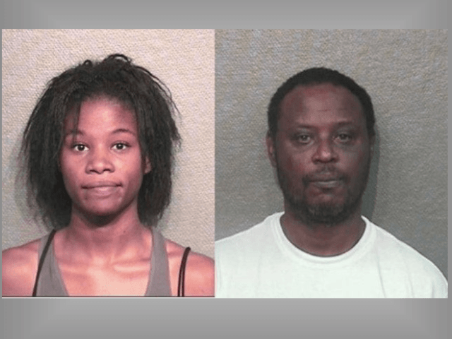 Ashley Nicole Richards and Brent Justice. alleged Animal crush video makers. (Houston Police Department Mugshots)
