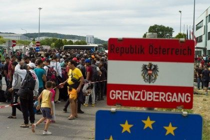 Migrant flood
