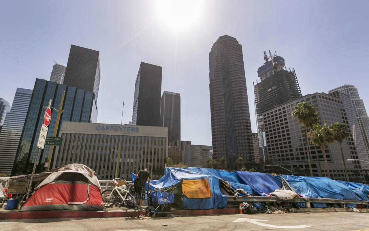 L.A. Considers Income Tax on Rich to Help Homeless