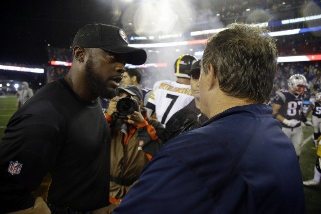 Bill Belichick, Mike Tomlin