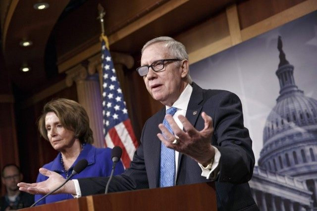 Harry Reid, Nancy Pelosi