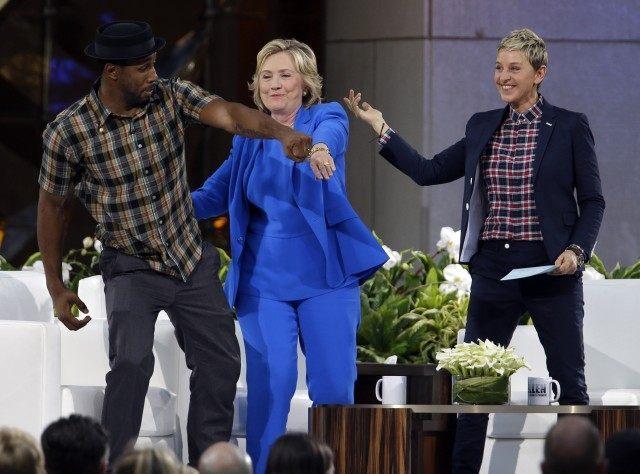 Hillary Rodham Clinton, Ellen DeGeneres,