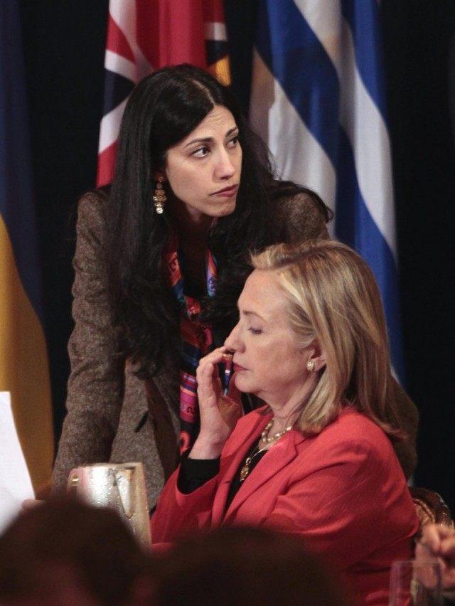 Huma Adedin, Hillary Rodham Clinton