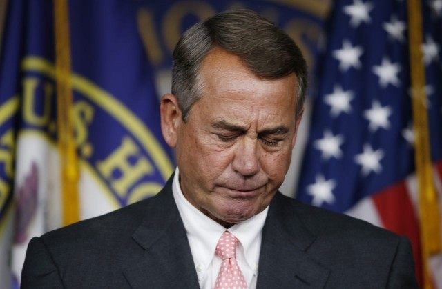 Chaos in Congress: House of Representatives a Mess as Boehner Charts Pathway to His Resignation