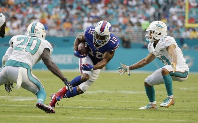 Percy Harvin, Reshad Jones, Brent Grimes