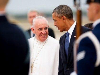 Pope Francis, Barack Obama
