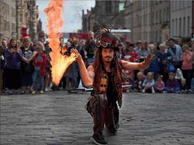 Edinburgh Fringe performer