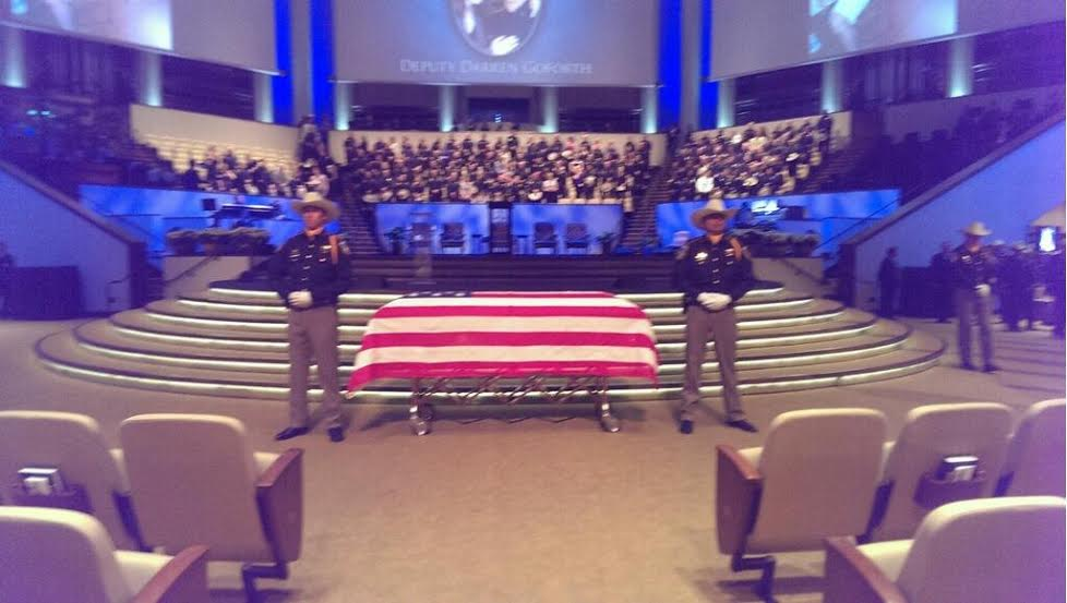 HOUSTON Texas Harris County Deputy Sheriff Darren Goforth Will Be Laid To Rest On Friday With All The Honors And State Of Can Bestow