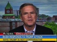 Jeb: Trump Does Not Believe in the Shared Values of America