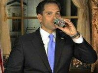 Marco Rubio water bottler (Screenshot)