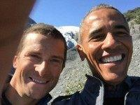 Tourist-In-Chief: Obama Snaps Selfies; Goes Boating In Alaska