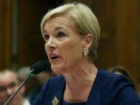Cecile Richards, president of Planned Parenthood Federation of America Inc. testifies during a House Oversight and Government Reform Committee hearing on Capitol Hill, September 29, 2015 in Washington, DC. The committee is hearing testimony on the use of taxpayer funding by Planned Parenthood and its affiliates. (Photo by )