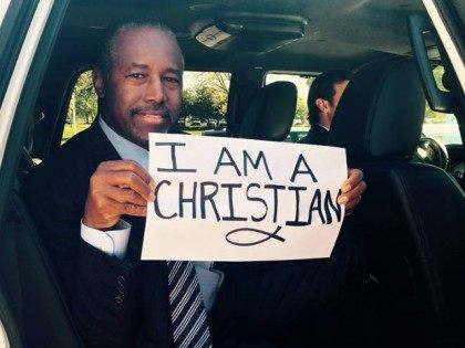 #IAmAChristian: Dr. Ben Carson Lights Up Facebook in Response to Oregon School Shooting