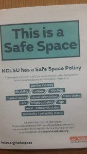 Safe Space Policy NUS Student