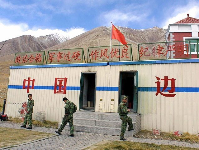 CHINESE BORDER GUARDS