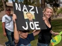 Arpaio Protest Sign
