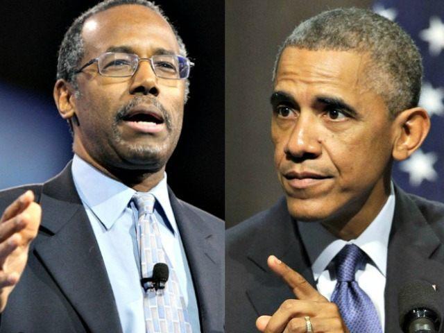 Ben Carson Reuters and Barack Obama AP