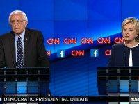 Watch: Sanders, Hillary Spar Over Capitalism