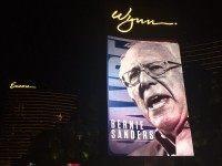 Bernie Sanders at the Wynn (Michelle Moons / Breitbart News)