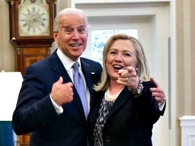 Biden and Hillary AP