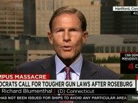 Dem Sen Blumenthal: 'There May Be No Specific Law' That Would Have Stopped OR Shooting