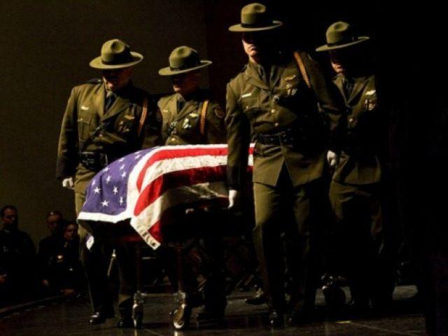 Border Patrol Funeral