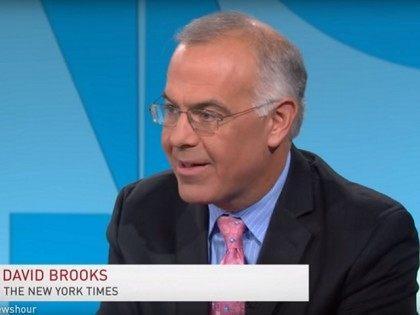 """David Brooks on 10/23/15 """"PBS NewsHour"""""""