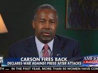 Carson: GQ 'Consumed With Hatred and Intolerance,' Media 'The Enemy of the People'