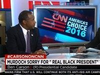 Carson: 'I Have To Take' Obama 'At His Word' That He's a Christian