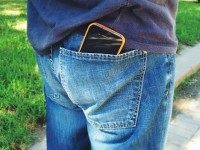Cellphone in pocket
