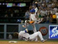 Chase Utley Slide Gregory Bull AP