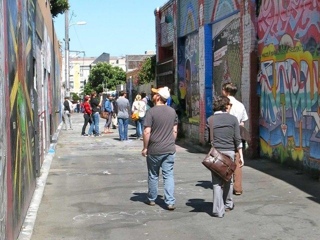 Clarion Alley San Francisco (torbakhopper / Flickr / CC / Cropped)