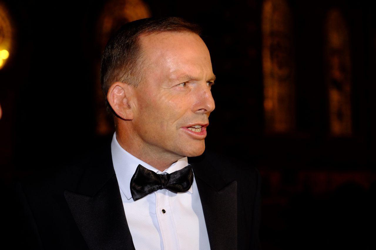 Former PM Abbott  (Breitbart London/Rachel Megawhat)