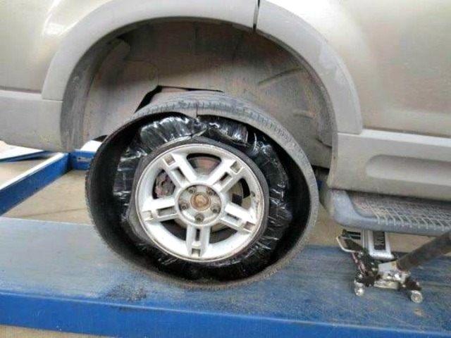 Drugs in a Tire KFOX 14