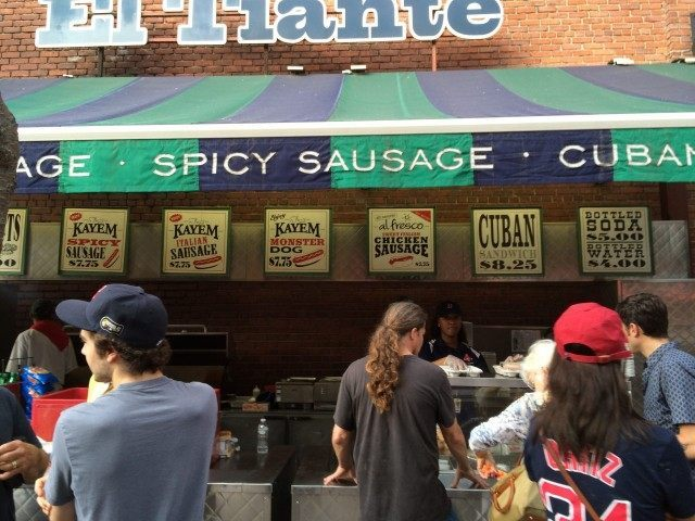 Fenway Concession Yawkey Way
