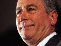 House Minority Leader John Boehner (R-OH) Attends Republican Election Watch Party