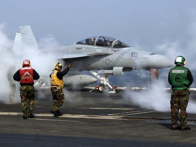 F-18 aircraft carrier