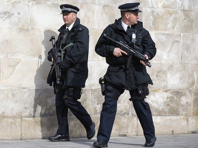 Armed Police terror suspect