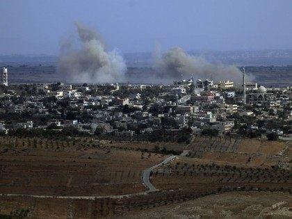 ISRAEL-SYRIA-CONFLICT-ROCKETS-GOLAN