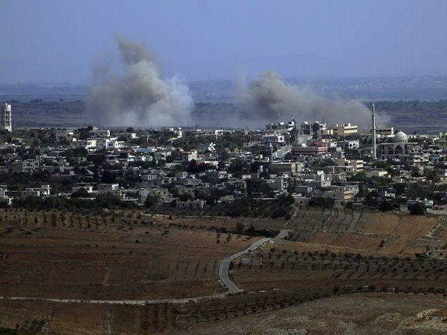 ISRAEL-SYRIA-CONFLICT-ROCKETS-GOLAN