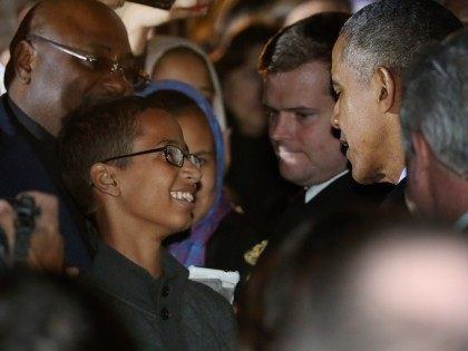 President Obama Hosts Astronomy Night For Students On White House South Lawn